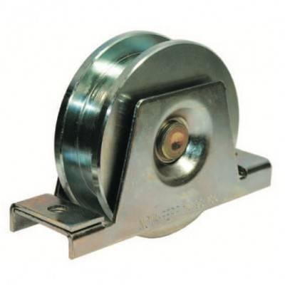roue gorge carr e de 20 mm de diam tre 140 mm en acier. Black Bedroom Furniture Sets. Home Design Ideas
