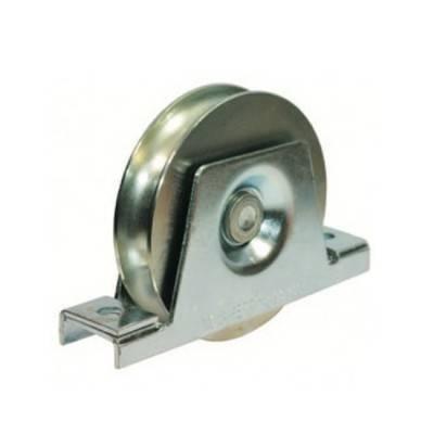 roue gorge ronde de 16 mm avec support bas de diam tre. Black Bedroom Furniture Sets. Home Design Ideas